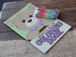 Wilbert Foundation Bertie Bear Coloring Book