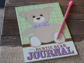 Wilbert Foundation Bertie Bear Journal