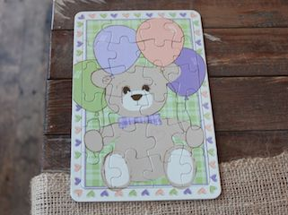 Wilbert Foundation Bertie Bear Puzzle