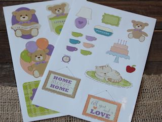 Wilbert Foundation Bertie Bear Stickers